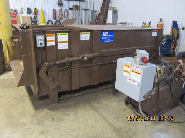 Completed Compactor Rebuild